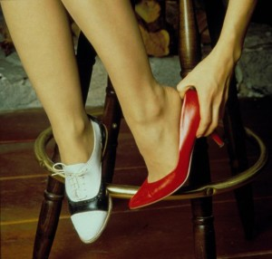 les chaussures twin peaks