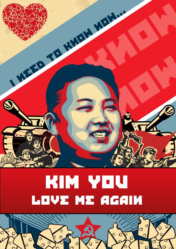 Kim Jong Un Valentine's Day