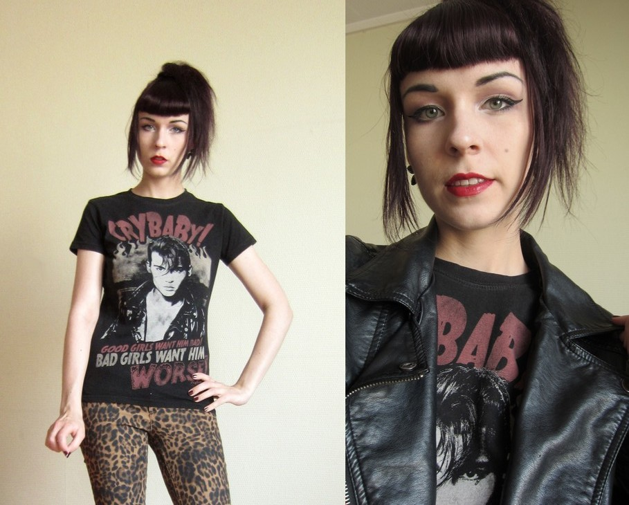 band shirts cry baby lookbook