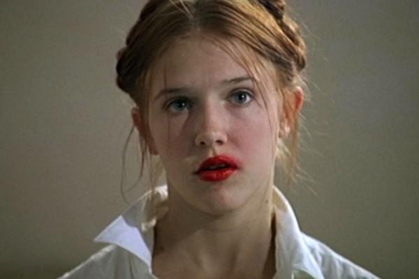 """Dominique Swain incarnant le rôle de Dolores Haze dans """"Lolita"""" d'Adrian Lyne"""