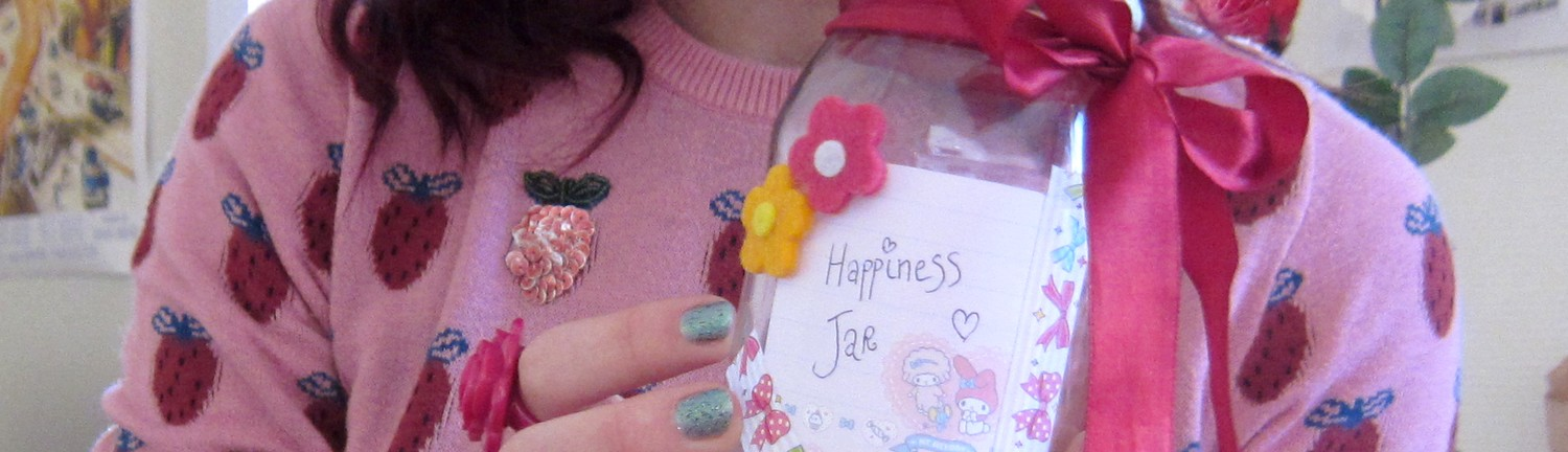 Happiness Jar banner