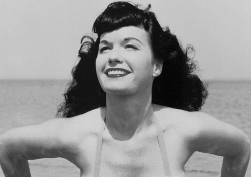 Bettie Page look