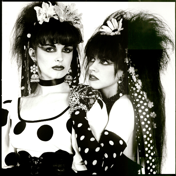 Strawberry Switchblade look