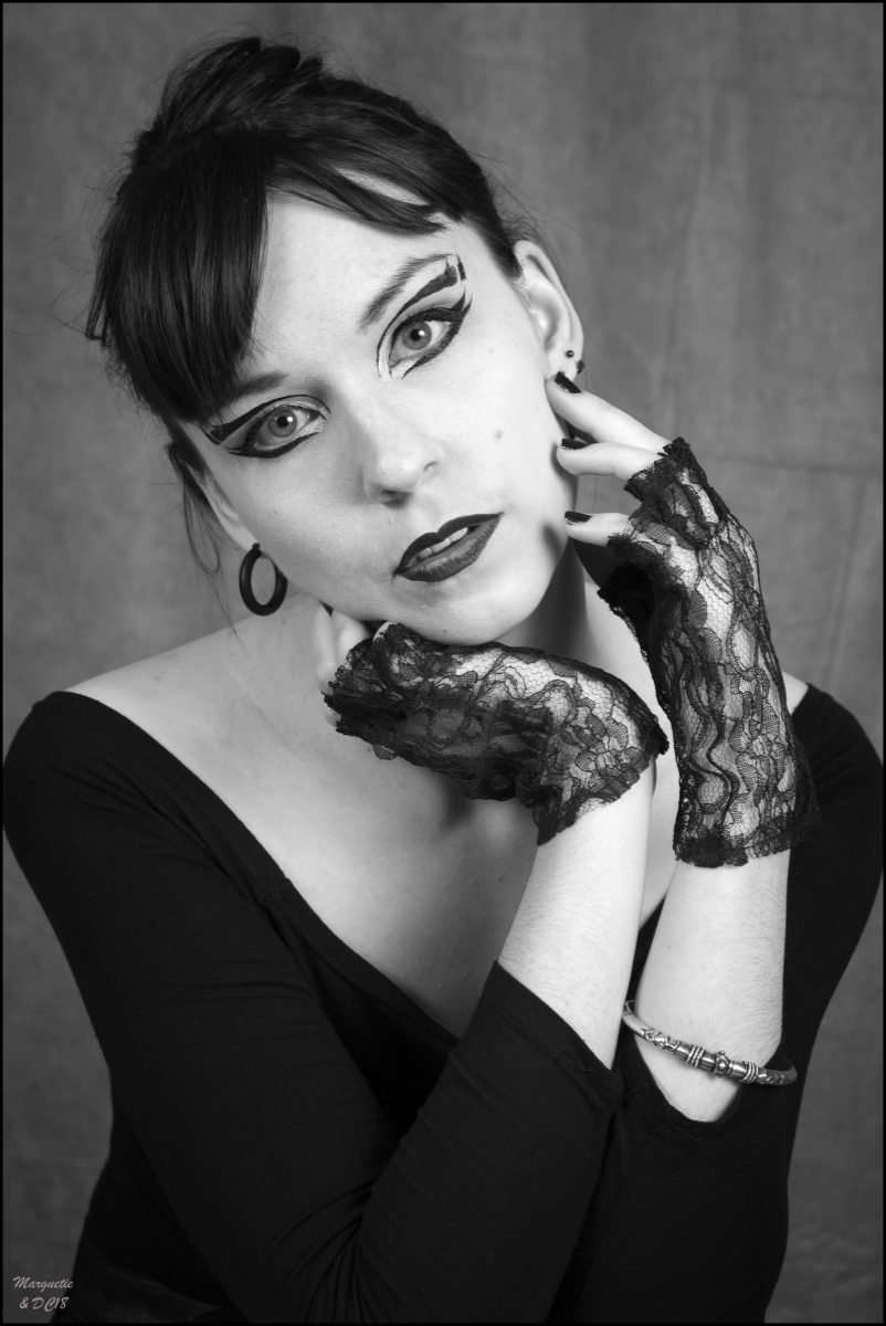 portrait noir et blanc par dom combarnous