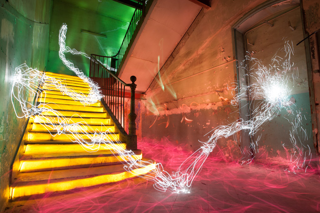 Jadikan lightpainting