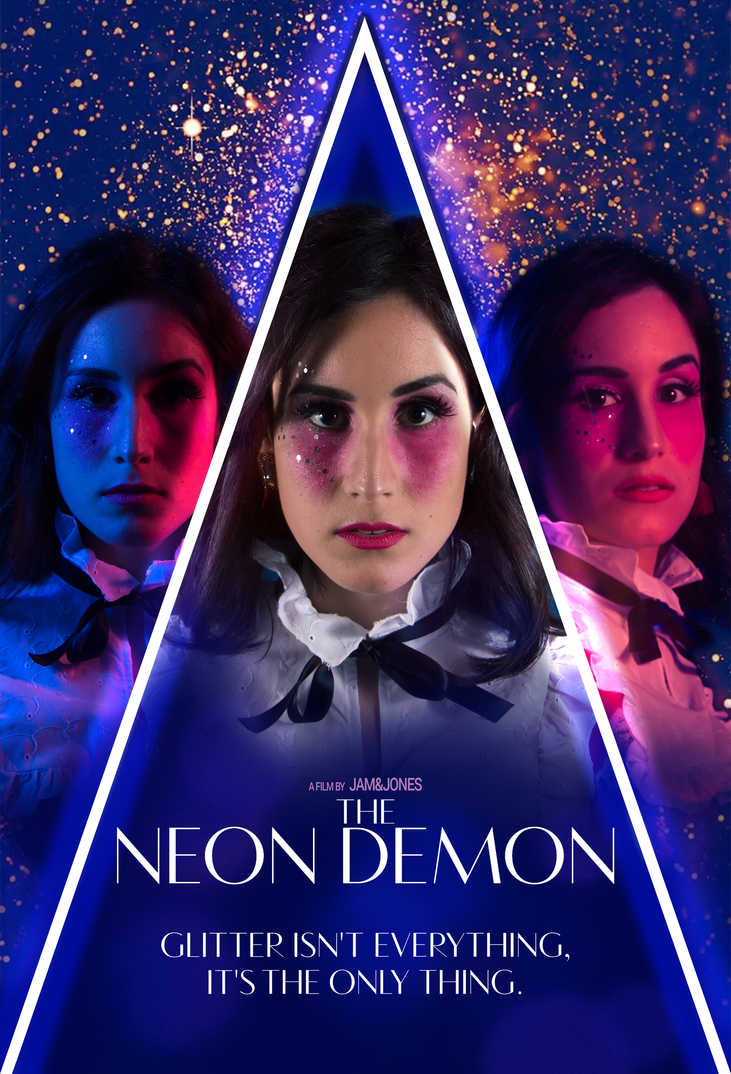 The neon demon triangle