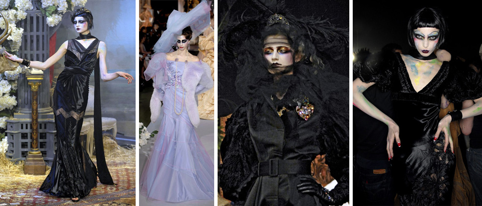 luisa casati dior galliano bal des artistes 2007