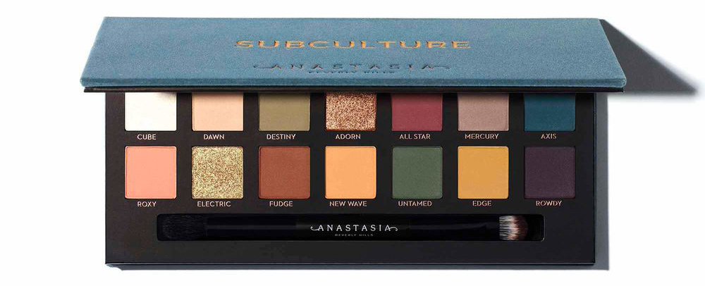 palette subculture anastasia beverly hills