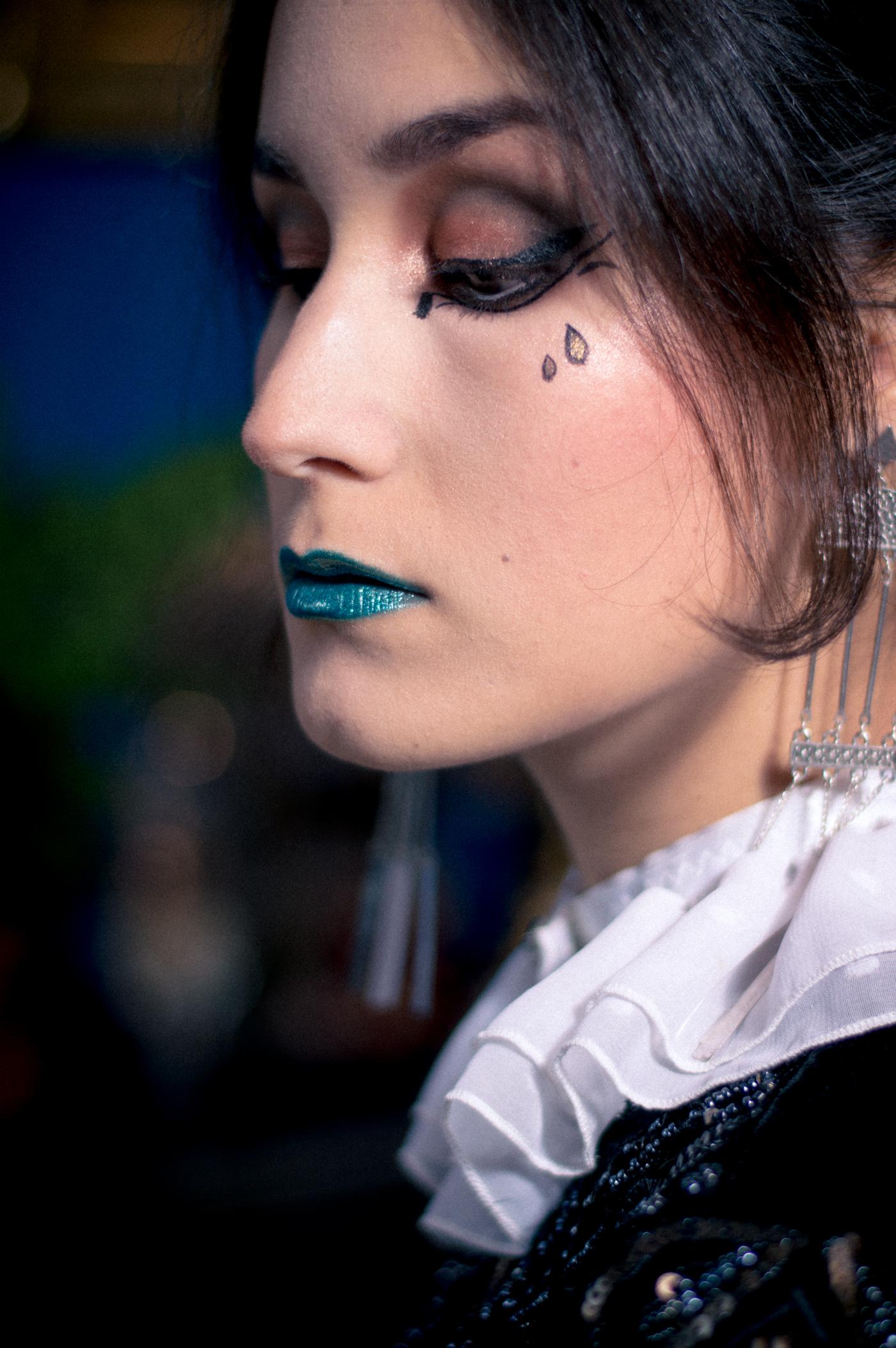 conte de fées maquillage pierrot