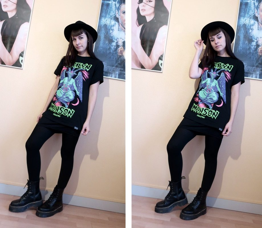 manson t shirt killstar