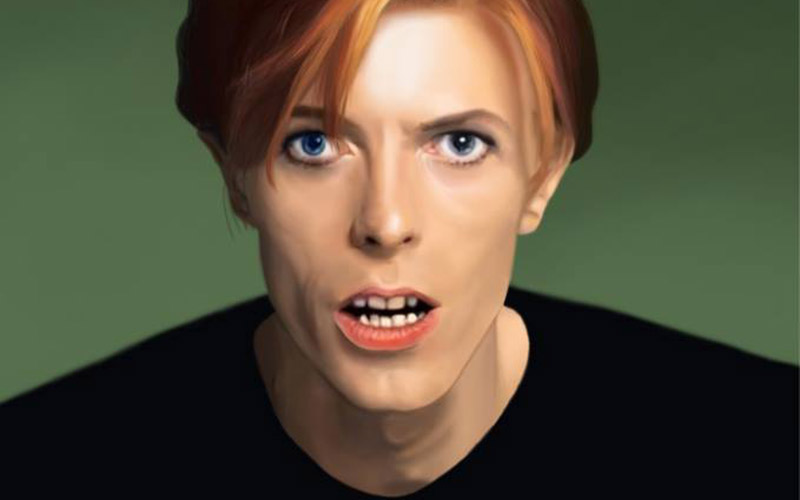 David Bowie Hair Evolution