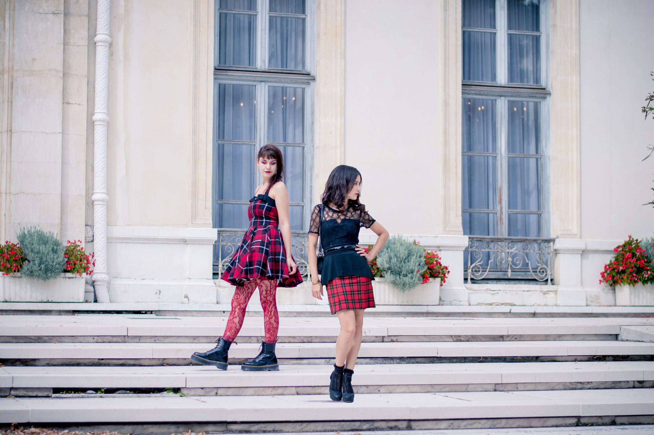 histoire du tartan punk schoolgirl oldschool plaid