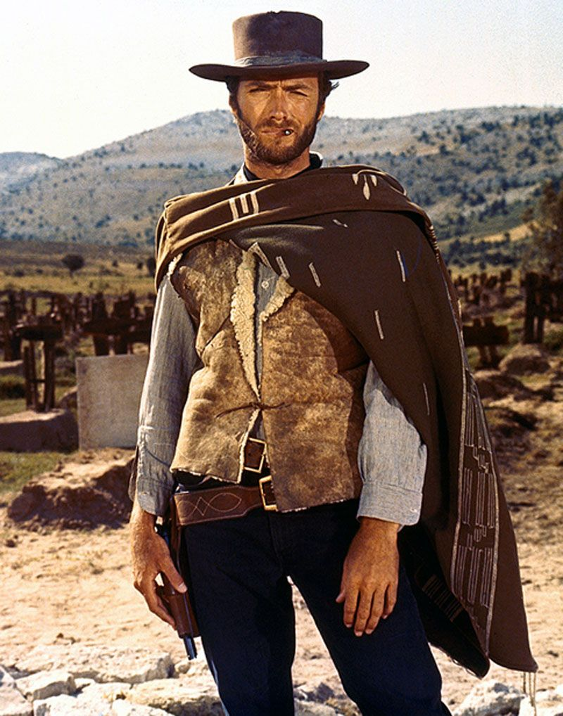 clint eastwood look western