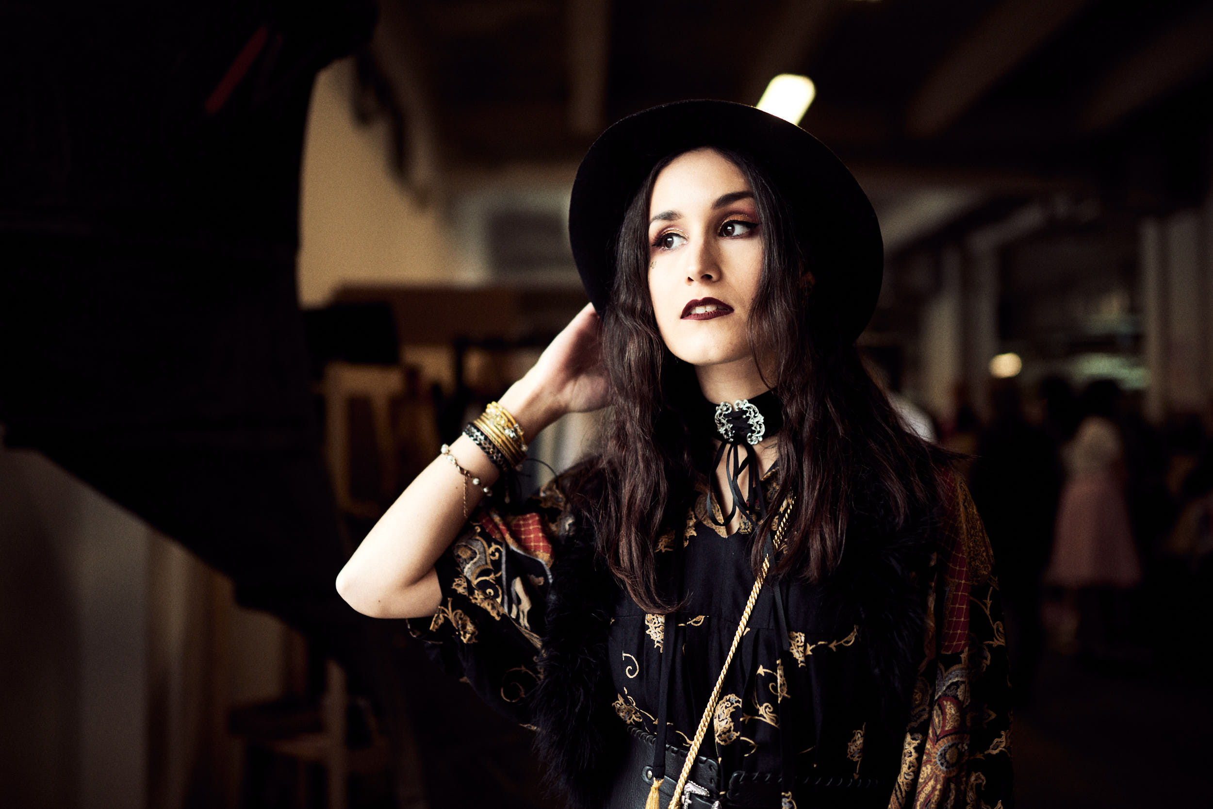 tenue hippie chic marché de la mode vintage lyon