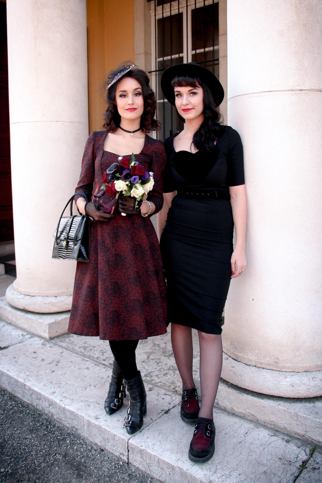 tenue mariage alternative vintage